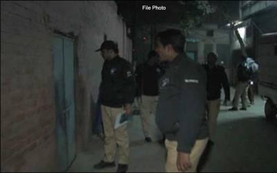 پولیس کا جہانیاں میں سرچ آپریشن ، 6مشتبہ افراد گرفتار