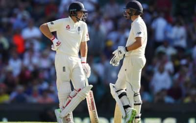 ایشز سیریزکا آخری ٹیسٹ میچ،انگلینڈ نے 5وکٹوں کے نقصان پر 233رنز بنالئے