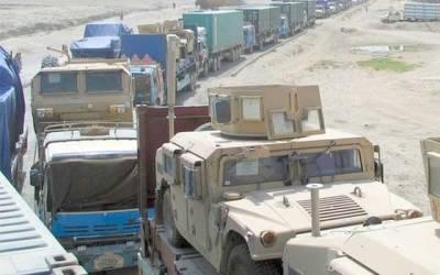 ٹرمپ انتظامیہ پاکستان میں نیٹو سپلائی کی ممکنہ بندش سے پریشان