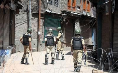 مقبوضہ کشمیر میں دھماکے میں 4 بھارتی اہلکار ہلاک