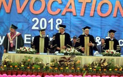 نوجوان والدین کو خود پر فخر کرنے کا موقع دیں: مراد علی شاہ کا این ای ڈی یونیورسٹی میں تقریب سے خطاب