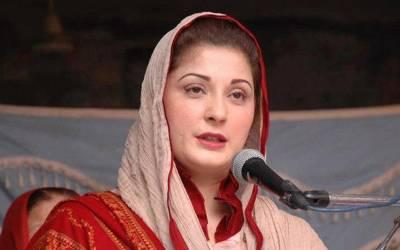 '' اس قوم کے نام نہاد لیڈروں کا لیڈر وہ ہے جو ۔ ۔ ۔'' مریم نواز میدان میں کود پڑیں