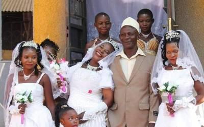 50 سالہ آدمی نے بیک وقت 3 لڑکیوں سے شادی کرلی، یہ تینوں کون ہیں؟ جان کر پاکستانی مردوں کو یقین نہیں آئے گا ایسا بھی ممکن ہے