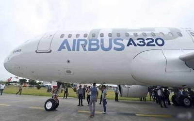 چین کی فرانس کو 184 ایئر بس A320 طیارے خریدنے کی یقین دھانی