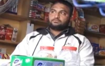 دکاندار کے بٹوے میں پولیس کارڈ دیکھ کر ڈاکوﺅں نے لوٹی رقم واپس کردی