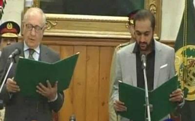 نو منتخب وزیر اعلیٰ بلوچستان نے حلف اٹھا لیا
