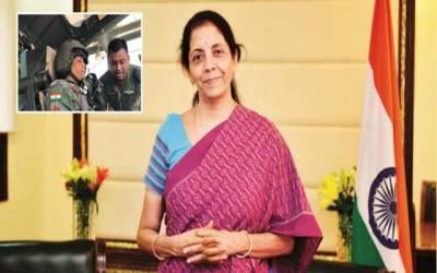 جنگی طیارے میں پرواز کرنے والی پہلی بھارتی خاتون وزیر دفاع