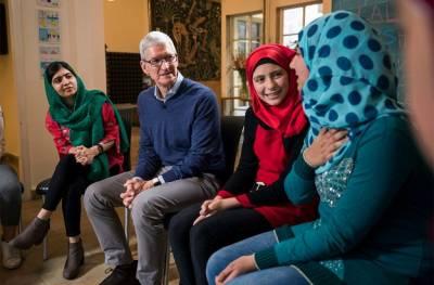 ایپل کمپنی نے ملالہ یوسفزئی کے لیے بہت بڑا اعلان کردیا ،پاکستانیوں کے لیے بڑی خبر آگئی