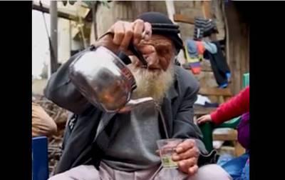 روزانہ صرف ایک کپ اور مردہ بھی زندہ ،118سال کی عمرمیں باپ بننے والے بزرگ نے مردوں کیلئے خاص نسخہ بتادیا