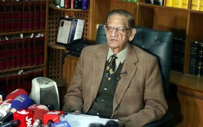 عدالتی حکم کے باوجود حکومت نے حافظ سعید کو گرفتار کیا تو قانونی جنگ لڑیں گے:اے کے ڈوگر ایڈووکیٹ