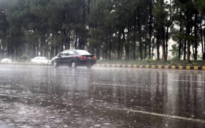 محکمہ موسمیات کی پیر اور منگل کو ملک کے مختلف حصوں میں بارش اور برفباری کی پیشگوئی