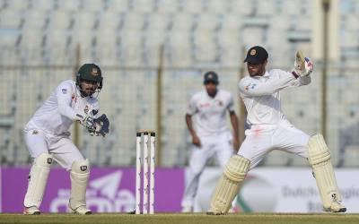بنگلہ دیش نے سری لنکا کے خلاف513رنز کا پہاڑ کھڑا کردیا