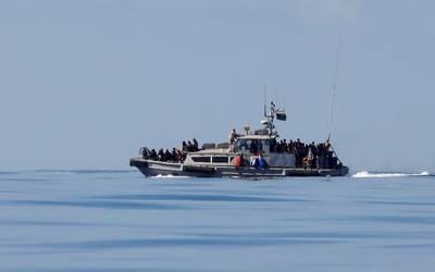 لیبیا کے ساحل پر کشتی الٹ گئی، پاکستانیوں سمیت 90افراد کے ڈوبنے کا خدشہ