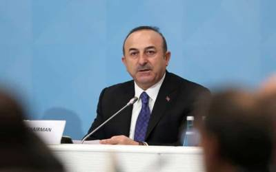 فرانس شام کے معاملے میں ہمیں سبق نہ دے:ترک وزیر خارجہ