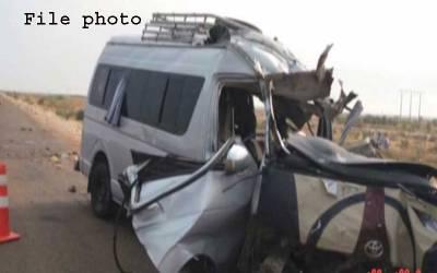 بھکر:سکول وین اور گاڑی میں تصادم،11 خواتین ٹیچرز زخمی