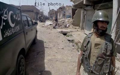شمالی وزیر ستان میں سیکیورٹی فورسز کی گاڑی پر راکٹ حملہ ،دو اہلکار شہید