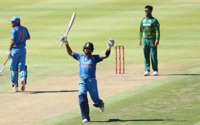 بھارت نے سائوتھ افریقہ کو تیسرے ایک روزہ میچ میں بھی شکست سے دوچار کردیا