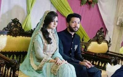 قومی کرکٹر صہیب مقصود شادی کے بندھن میں بند ھ گئے ،دلہن کیسی دکھتی ہے ؟تصاویر بھی سامنے آ گئیں