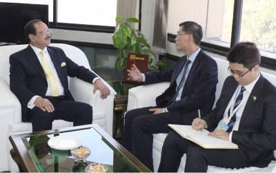 پاکستان کے ہنر مند نوجوانوں کے روزگار کو یقینی بنانے کیلئے سی پیک سے منسلک چینی کمپنیاں نیوٹیک سے مستقل رابطے میں رہیں گی:چینی سفیر کی ذوالفقار چیمہ کو یقین دہانی