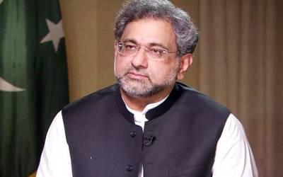 میر ی حکومت میں صرف آئین ہی ریڈ لائن ہے :شاہد خاقان عباسی