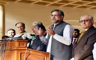 """یہ بات قابل قبول نہیں کہ""""وزیراعظم شاہد خاقان عباسی نے بھی خاموشی توڑ دی، کھل کر عدالت کیخلاف بول پڑے"""