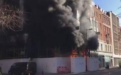برطانیہ میں زیر تعمیر عمارت میں آتشزدگی، امدادی کا رروائیاں جاری ،عمارت میں پھنسے 10مزدورباحفاظت نکال لئے گئے