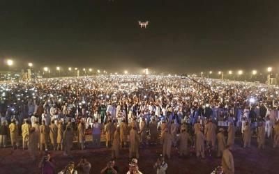 جمعیت علمائے اسلام نے حیدر آباد میں پنڈال سجا لیا ،ہزاروں پر جوش کارکنوں کی شرکت،فضل الرحمن کے خطاب کا بے تابی سے انتظار