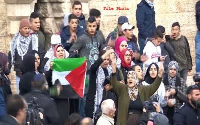 امر یکی سفارتخانہ کی منتقلی خطے کے امن کے لئے سخت نقصان دہ ہے:فلسطینی تنظیمیں