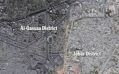 یہ تصویر ایک بڑے عرب مسلمان ملک کے دارالحکومت کی ہے، اس کا ایک حصہ بالکل صحیح سلامت جبکہ دوسرا مکمل تباہ ہوچکا ہے، کونسا شہر ہے اور صرف آدھا ہی کیوں تباہ ہوا؟ حقیقت جان کر آپ کا دل خون کے آنسو روئے گا
