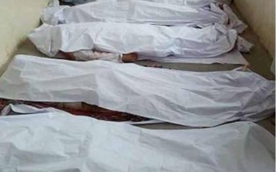 چکوال:موٹروے پر کار حادثے کا شکار، ایک ہی خاندان کے 4 افراد جاں بحق