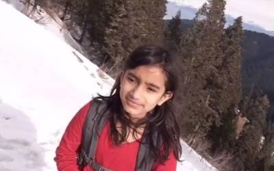 'پہاڑیوں کی شہزادی' سلینہ خواجہ نے ہنزہ میں 5 ہزار میٹر بلند چوٹی سر کرلی