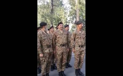 پاک فوج کے اعلٰی افسروں کوعام لوگوں کے سامنے ایک صوبیدار نے انتہائی زور دار انداز میں ڈانٹ پلا دی ،وڈیو منظر عام پر آ گئی