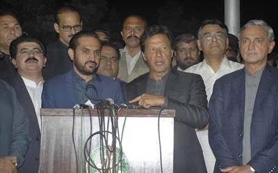 عمران خان اور وزیراعلیٰ بلوچستان کی ملاقات، چیئرمین سینیٹ کیلئے صادق سنجرانی کا نام فائنل
