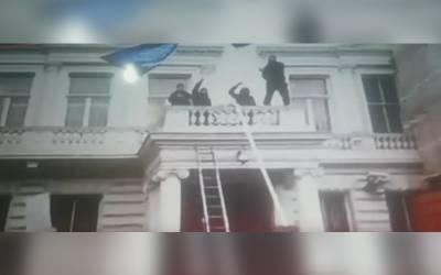 عراقی شیعہ مبلغ کی تہران میں گرفتاری، لندن میں ایرانی سفارتخانے پر حملہ