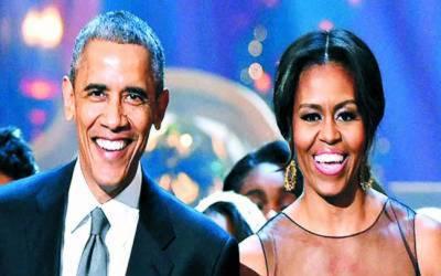 سابق امریکی صدر اوباما اور انکی اہلیہ مشعل نے نیا روزگار ڈھونڈ لیا