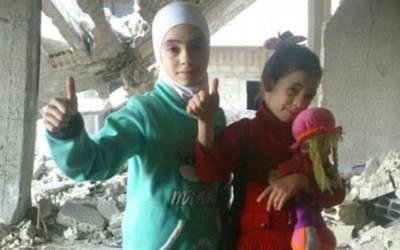 شام کے شہر الغوطۃ میں پھنسی ان 2 چھوٹی سی مسلمان بچیوں نے انٹرنیٹ پر ایسی بات کہہ دی کہ ہر شخص کو ہلا کر رکھ دیا، جان کر ہر پاکستانی کی بھی آنکھیں نم ہوجائیں