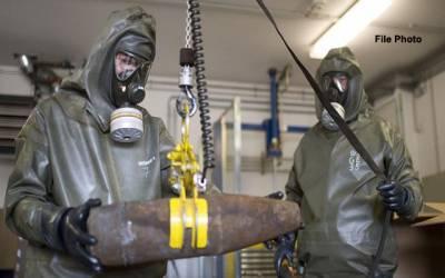 شامی حکومت نے مشرقی غوطہ میں کیمیائی ہتھیاروں کے استعمال کی تردید کر دی