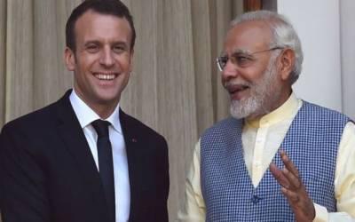 بھارت،فرانس ایک دوسرے کے جنگی جہازوں کے لیے اپنے بحری اڈے کھولیں گے