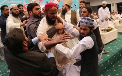 '' نوازشریف کو ایک یا دو جوتے نہیں مارے گئے بلکہ ۔ ۔ ۔'' تقریب میں موجود سینئر صحافی وڑائچ کا ایسا انکشاف کہ پوری مسلم لیگ ن حیران پریشان رہ جائے گی