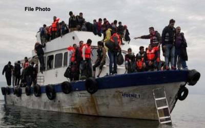 لیبیا سے اٹلی جانے کی کوشش ،223 تارکین وطن گرفتار