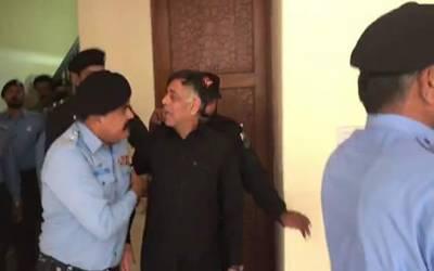 نقیب اللہ محسود قتل کیس میں گرفتار ملزم راﺅ انوار کو ڈپلو میٹک انکلیو منتقل کردیاگیا