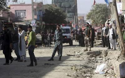 کابل میں سخی مزار کے قریب خود کش حملہ ،29افراد ہلاک 52 زخمی،طالبان نے حملے میں ملوث ہونے کی تردید کر دی