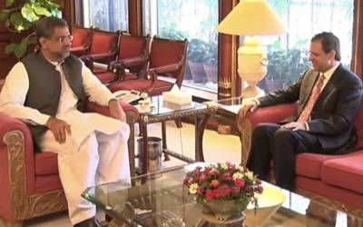 وزیر اعظم کی افغان سفیر سے ملاقات،کابل دھماکے میں ہلاکتوں پر اظہار افسوس
