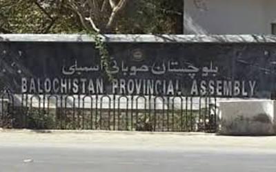 """بلوچستان اسمبلی: لفظ """"ٹینکی"""" پر جھڑپ"""