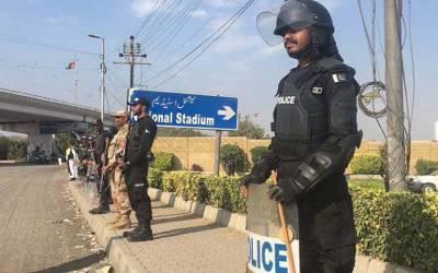 دورہ ویسٹ انڈیز ،صوبائی وزیر ناصر حسین اور رینجرز کے سیکٹر کمانڈر بریگیڈیئر شاہد کی مکمل سیکیورٹی کی یقین دہانی