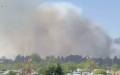 مارگلہ کی پہاڑیوں میں لگی آگ 2کلومیٹر تک پھیل گئی،پاک فوج طلب