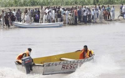 دریائے کابل میں مدرسے کے طلباسے بھری کشتی الٹ گئی