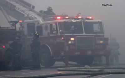 مدینہ منورہ، عمارت میں آگ لگنےسے بچہ جاں بحق