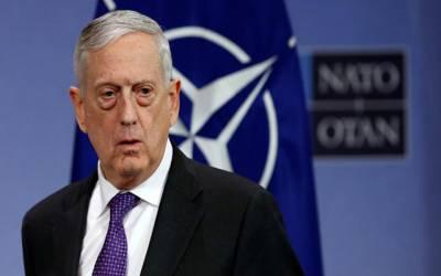 شامی حکومت کے خلاف فوجی کارروائی زیر غور ہے :امریکی وزیردفاع