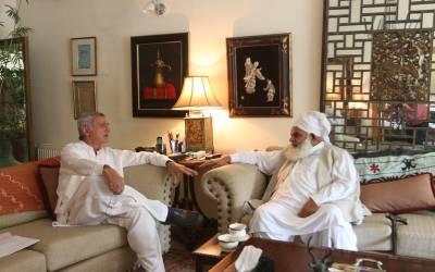تحریک انصاف نے مسلم لیگ ن کی اہم وکٹ گرادی، سابق ایم این اے مخدوم احمد عالم انور ساتھیوں سمیت پی ٹی آئی میں شامل